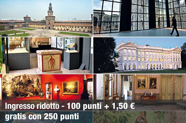 ingresso ai musei civici di milano